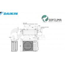 FTXS35K/RXS35L3 Daikin PERFERA: помещение до 90 куб.м.