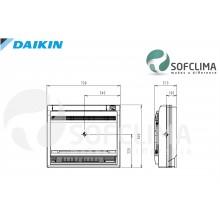 Подов климатик Daikin FVXS25F: помещение до 70 куб.м.