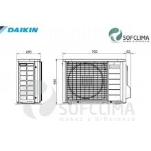 Подов климатик Daikin FNQ25A за вграждане: помещение до 70 куб.м