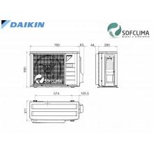 Канален климатик Daikin FBA35A: помещение до 90 куб.м.