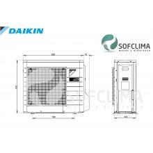 Подов климатик Daikin FNQ50A за вграждане: помещение до 130 куб.м