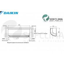 FTXS25K/RXS25L3 Daikin PERFERA: помещение до 70 куб.м.