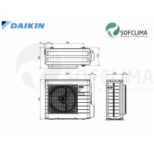 Канален климатик Daikin FBA60A: помещение до 150 куб.м.